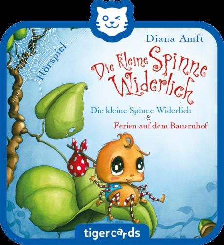 Coverbild - tigercard - Die kleine Spinne Widerlich: Die kleine Spinne Widerlich & Ferien auf dem Bauernhof