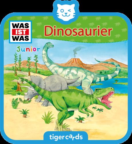 Coverbild - tigercard - WAS IST WAS Junior: Dinosaurier