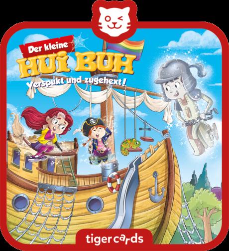 Coverbild - tigercard - Der kleine Hui Buh (22): Ein Piratentier für Polly