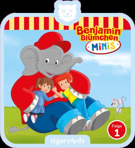 Coverbild - tigercard - Benjamin Blümchen Minis: Hallo Lea