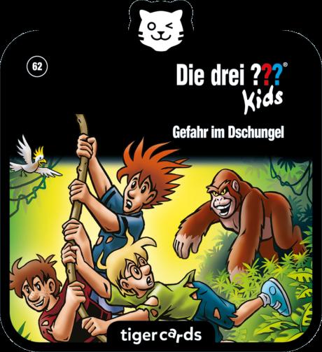 Coverbild - tigercard - Die ??? Kids (62): Gefahr im Dschungel