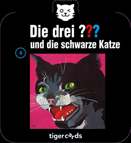 Coverbild - tigercard - Die drei ???: Die schwarze Katze