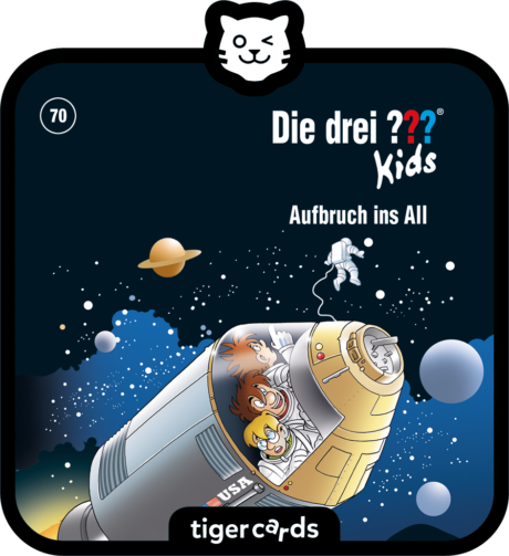 Coverbild - tigercard - Die ??? Kids (70): Aufbruch ins All