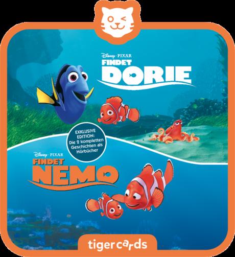 Coverbild - tigercard - Disney: Findet Nemo / Findet Dorie