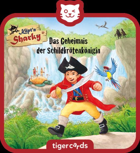 Coverbild - tigercard - Käpt'n Sharky: Das Geheimnis der Schildkrötenkönigin