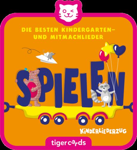 Coverbild - tigercard - Kinderliederzug (3): Die besten Kindergartenlieder – Spielen