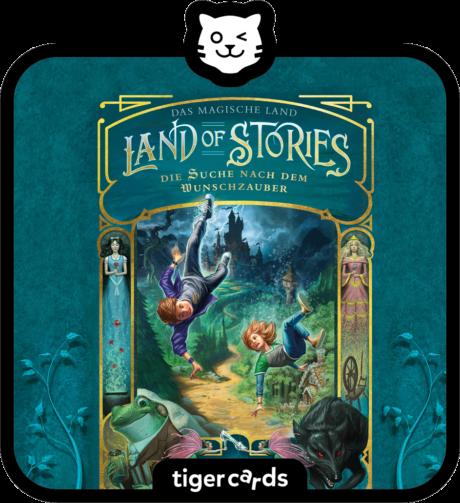 Coverbild - tigercard - Land of Stories: Das magische Land (1): Die Suche nach dem Wunschzauber