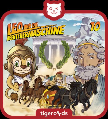 Coverbild - tigercard - Leo und die Abenteuermaschine: Carpe diem – nutze den Tag