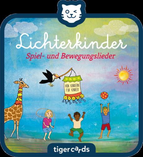 Coverbild - tigercard - Lichterkinder: Spiel und Bewegungslieder