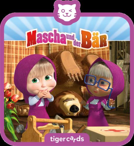 Coverbild - tigercard - Mascha und der Bär (6): Eine zu viel