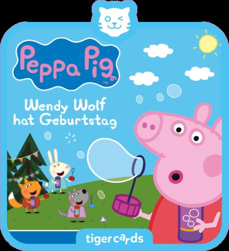 Coverbild - tigercard - Peppa Pig: Wendy Wolf hat Geburtstag