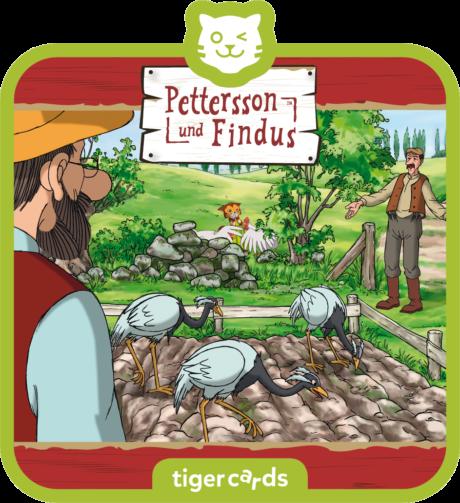 Coverbild - tigercard - Pettersson & Findus: Aufruhr im Gemüsebeet