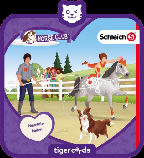 Coverbild - tigercard - Schleich Horse Club: Heimlichkeiten