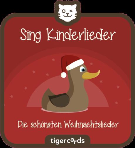 Coverbild - tigercard - Sing Kinderlieder: Die schönsten Weihnachtslieder