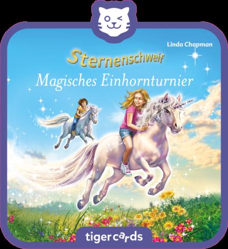 Coverbild - tigercard - Sternenschweif: Magisches Einhornturnier