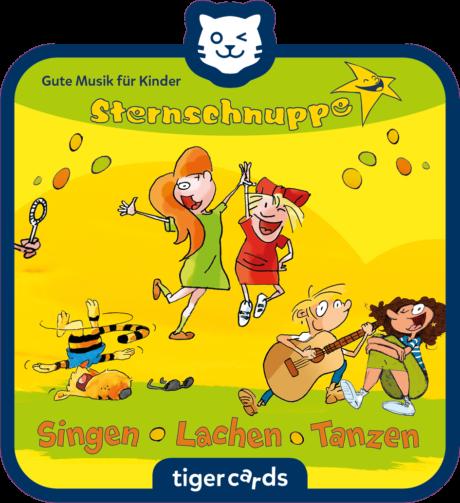 Coverbild - tigercard - Sternschnuppe: Singen, Lachen, Tanzen (Exklusive Zusammenstellung)