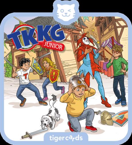 Coverbild - tigercard - TKKG Junior (7): Zwischen Gauklern und Ganoven