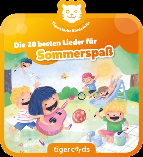 Coverbild - tigercard - Die 20 schönsten Sommerlieder Vol.1