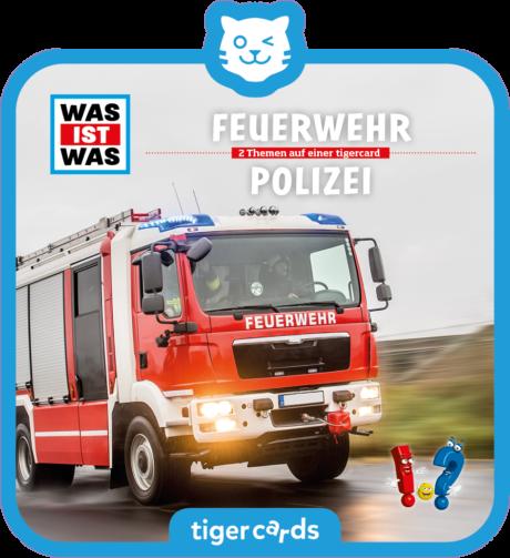 Coverbild - tigercard - WAS IST WAS: Feuerwehr/Polizei