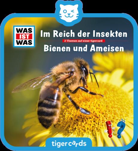 Coverbild - tigercard - WAS IST WAS: Im Reich der Insekten/ Bienen und Ameisen