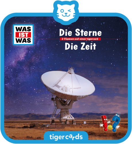 Coverbild - tigercard - WAS IST WAS: Die Sterne / Die Zeit