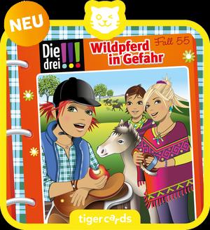 tigercard - Die drei !!! - Folge 55: Wildpferd in Gefahr