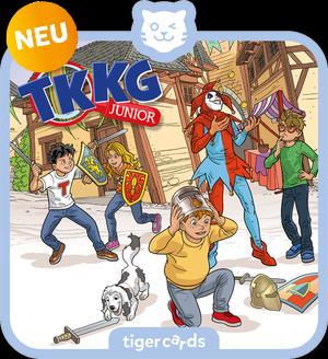 tigercard - TKKG Junior - Folge 7: Zwischen Gauklern und Ganoven