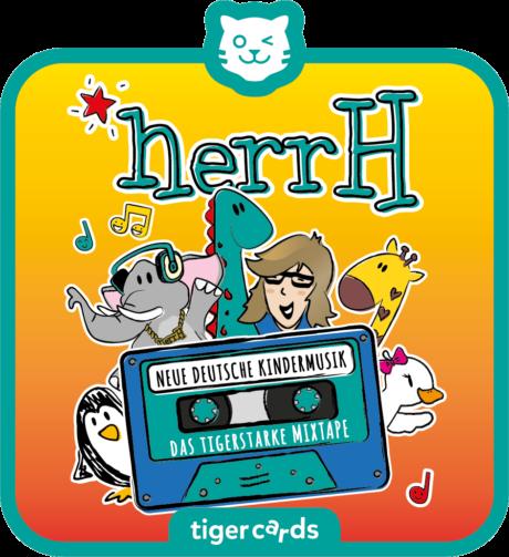 Coverbild - tigercard - herrH: Das tigerstarke Mixtape – Neue deutsche Kindermusik