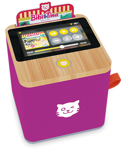 tigerbox TOUCH lila mit card