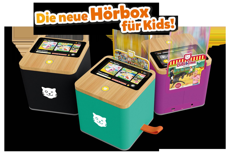 Die tigerbox TOUCH ist die neue Hörbox für Kids und mehr als ein Lautsprecher für Kinder.