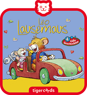 Leo Lausemaus will nicht teilen und drei weitere süße Geschichten hörst du auf dieser tigercard.