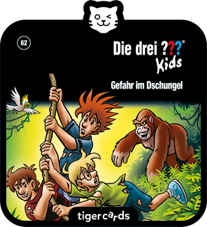 tigercard - Die drei ??? Kids - Folge 62: Gefahr im Dschungel