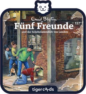 tigercard - Fuenf Freunde - Folge 137 - und der Schokoladendieb von London