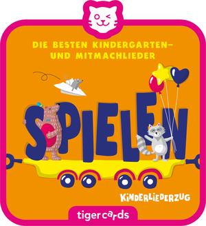 tigercard - Kinderliederzug - Folge 3: Die besten Kindergartenlieder - Spielen