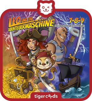 tigercard - Leo und die Abenteuermaschine - Folge 7-8-9 Die Schnitzeljagd