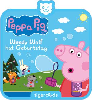 tigercard - Peppa Pig - Wendy Wolf hat Geburtstag