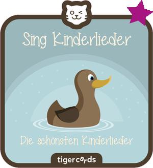 tigercard - Sing Kinderlieder - Die schönsten Kinderlieder