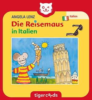 Die Reisemaus packt ihre Koffer und reist nach Italien, um Rom, Pisa und Venedig zu erkunden.