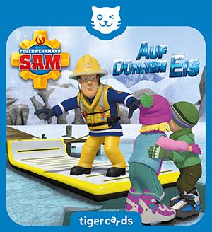 Auf duennem Eis: In Pontypandy tobt ein Schneesturm und Feuerwehrmann Sam ist wieder im Einsatz.