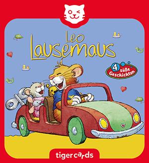Leo Lausemaus will nicht teilen und drei weitere sueße Geschichten hoerst du auf dieser tigercard.