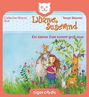 Liliane Susewind, Ein kleiner Esel kommt groß raus, ist eine knackige Geschichten mit Musik und Geraeuschen.