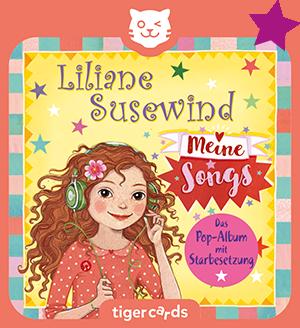 Meine Songs ist ein ganzes Album voller Liliane Susewind Hits auf dieser tigercard.