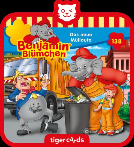 Coverbild - tigercard - Benjamin Blümchen: Das neue Müllauto