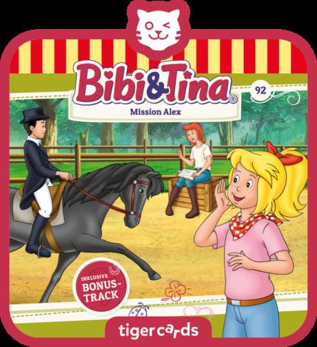 Coverbild - tigercard - Bibi & Tina: Mission Alex