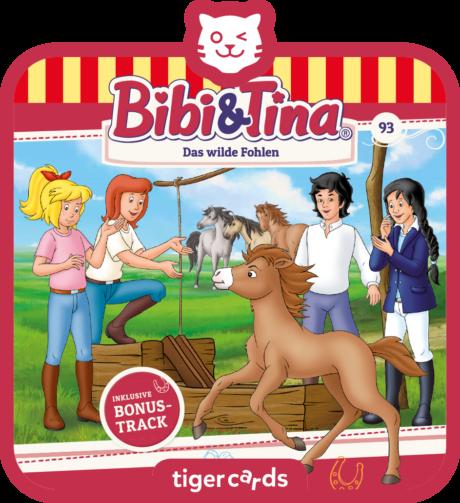 Coverbild - tigercard - Bibi & Tina: Das wilde Fohlen