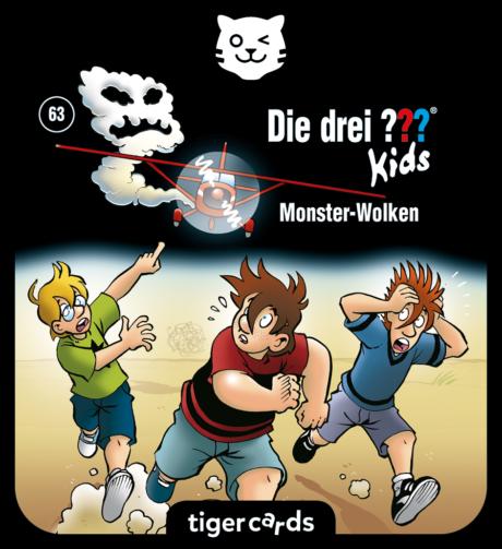 Coverbild - tigercard - Die drei ??? Kids: Monster-Wolken