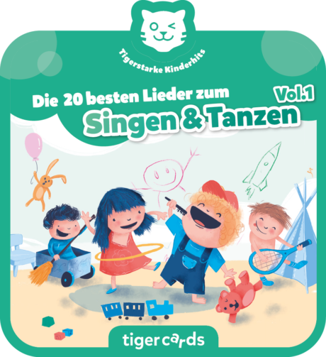 Coverbild - tigercard - Die 20 besten Lieder zum Singen & Tanzen