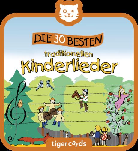 Coverbild - tigercard - Die 30 Besten: Die 30 besten traditionellen Kinderlieder