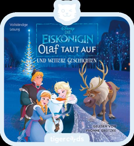 Coverbild - tigercard - Die Eiskönigin: Olaf taut auf