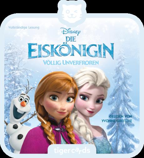 Coverbild - tigercard - Die Eiskönigin: Völlig unverfroren